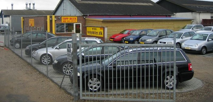 Toppbiler udstilling i Vamdrup ved Kolding